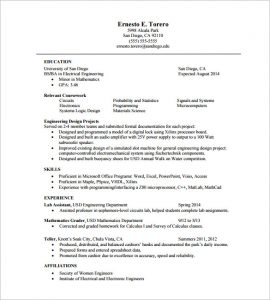 page resume template one page resume template gptgqa