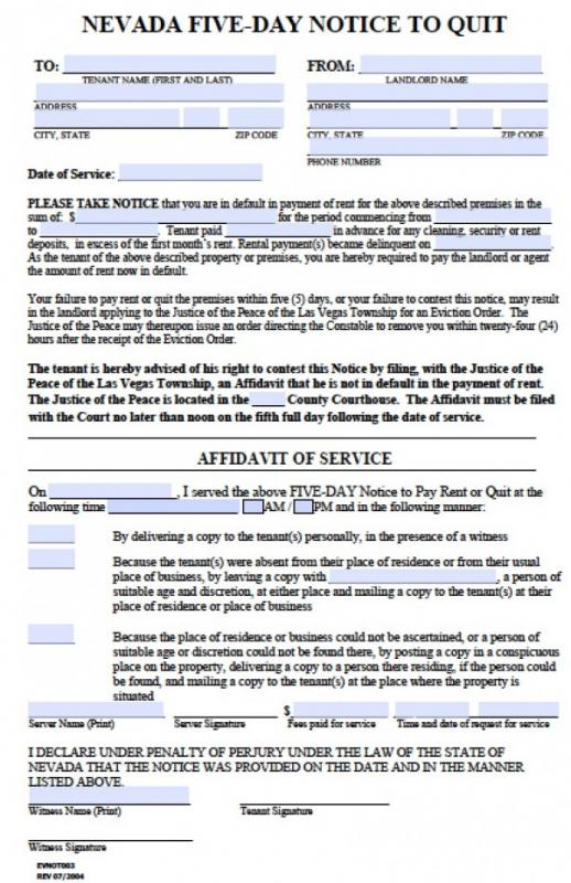 30 day eviction notice pdf