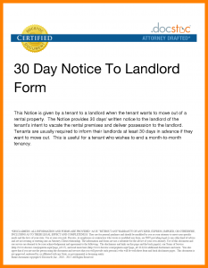 day notice template apartment move out notice day notice to landlord template