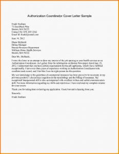 day notice template sample authorization letter authorization coordinator cover letter sample