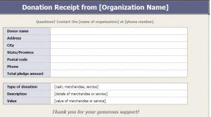 c donation receipt donation receipt
