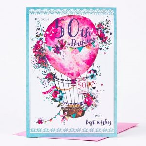 th birthday invitations for him th birthday card hot air balloon a