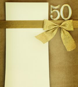 th birthday invitations for him white gold invitations