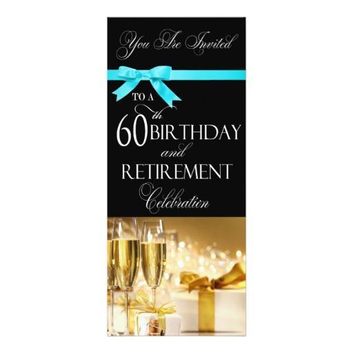 60 th birthday invitation