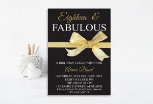 th birthday invitation black and silver birthday invitation th birthday invitation th birthday party invitation