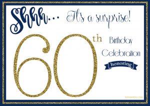 th birthday invitation free printable golden surprise th birthday invitation template