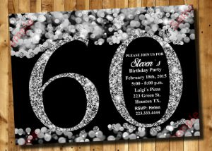 th birthday invites th birthday invitation silver glitter invitation template