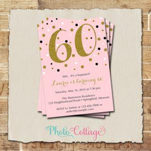 th birthday invites th birthday invitations with gold glitter