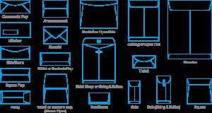 a envelope template envelope types