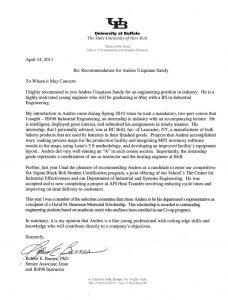 academic recommendation letter academic recommendation letter