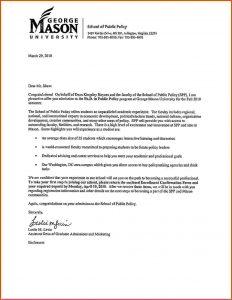 acceptance letter template letter of acceptance phdacceptance