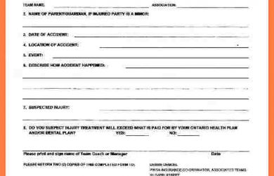 accident report form company accident report form car insurance documents car insurance for teachers pwsaaccidentreportform