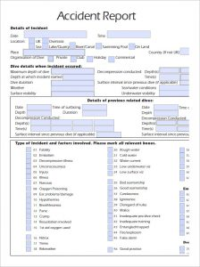 accident reporting template accident report template in pdf