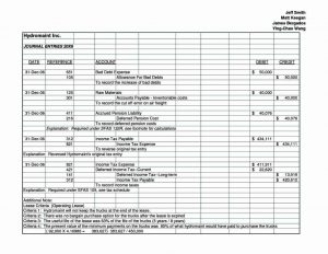 accounting journal template adjusting journal entry form template