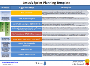 action planning template excel techniques for improving sprint planning jesus mendez pertaining to sprint planning template