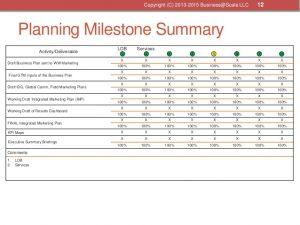 action plans format gotomarket business plan template
