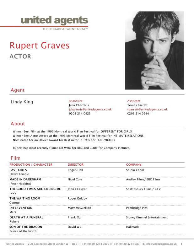 actors resume template