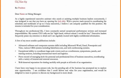 admin assistant cover letter admin assistant cover letter example