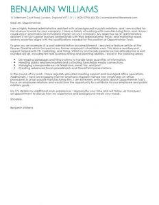 admin assistant cover letter administrative assistant cover letter full
