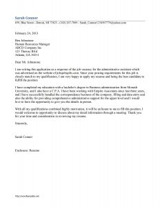 administrative assistant cover letter cl 3 administrative assistant