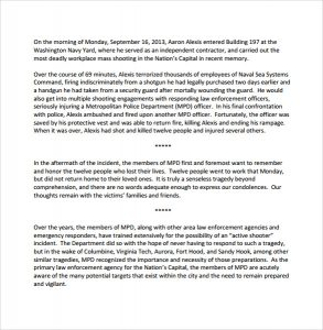 after action report example of after action report template