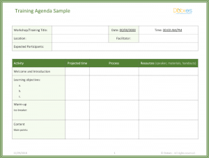 agenda template word training agenda template featured image