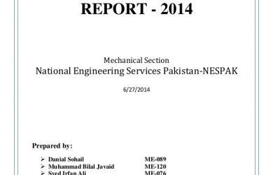 agreement letter sample summer internship report national engineering services pakistan