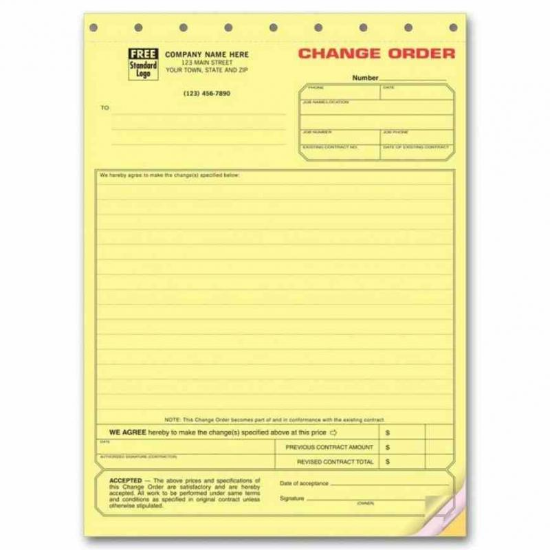 aia change order form