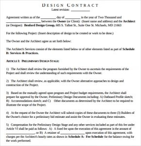 aia documents free download interior design proposal contract template