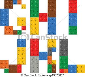 alphabet letters template can stock photo csp