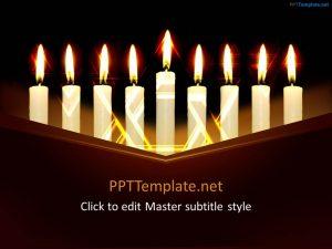 animated powerpoint templates free hanukkah ppt template