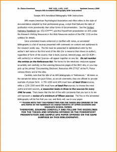 annotated bibliography template apa annotated bibliography template apa format apa annotated bibliography template ickeldz