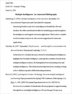 annotated bibliography template untitled 2