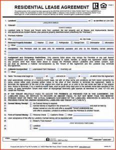 apartment lease agreement apartment rental agreement arizona residential lease