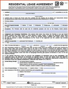 apartment rental agreement apartment rental agreement arizona residential lease