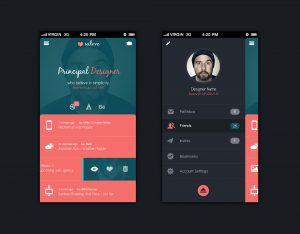 app design template aopmy