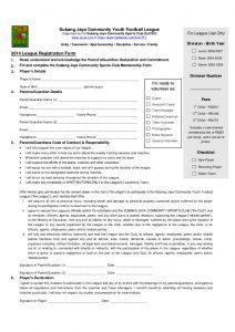 applicant form template sjcsc sjcyfl registration form junior major senior final