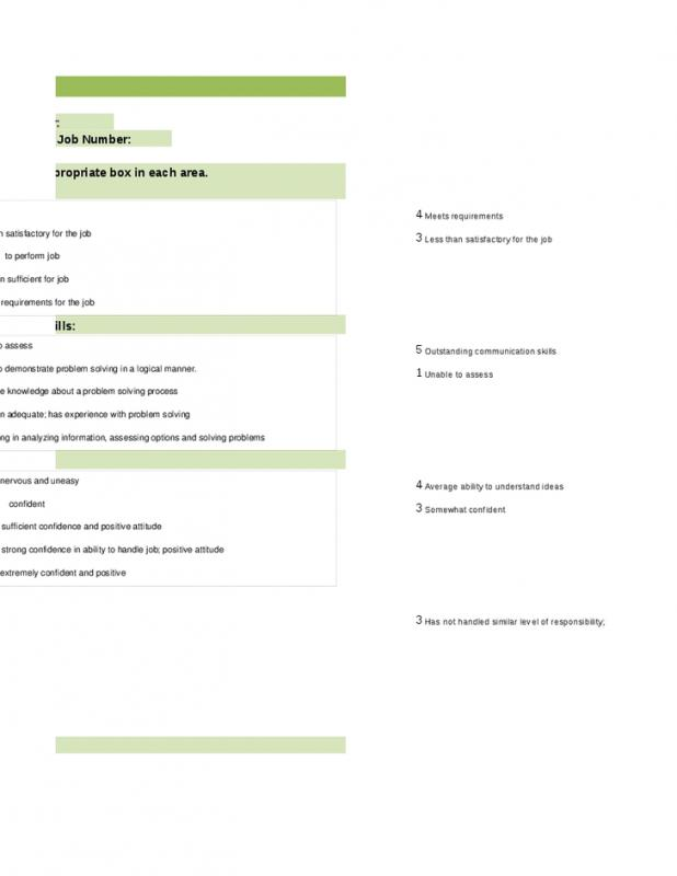 applicant form template