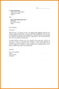 application letter format sample of an application letter for nursing application letter for nurses