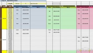 appointment schedules templates appointment scheduling spreadsheet