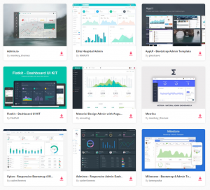 apps design template best responsive html css angularjs admin templates to build awesome web apps