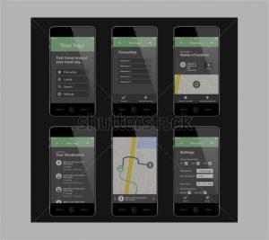 apps design template mobile app layout designs