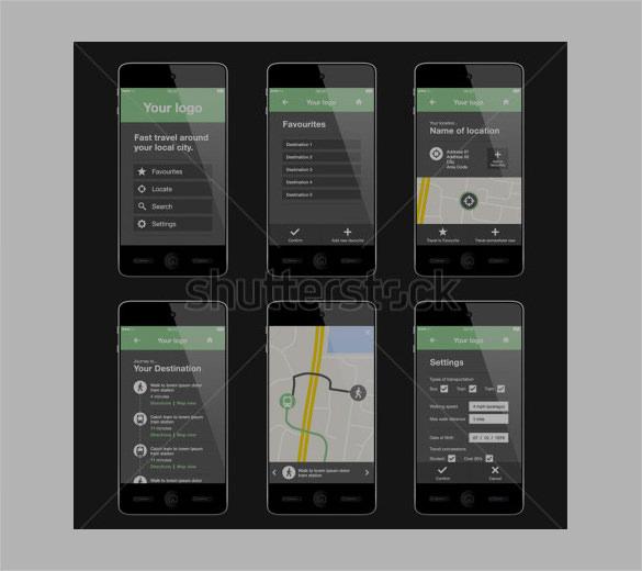 apps design template