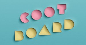 apps design templates coot board cut paper punching text effect psd