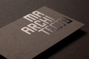 architect business card img