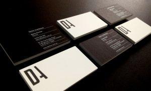 architecture business cards da