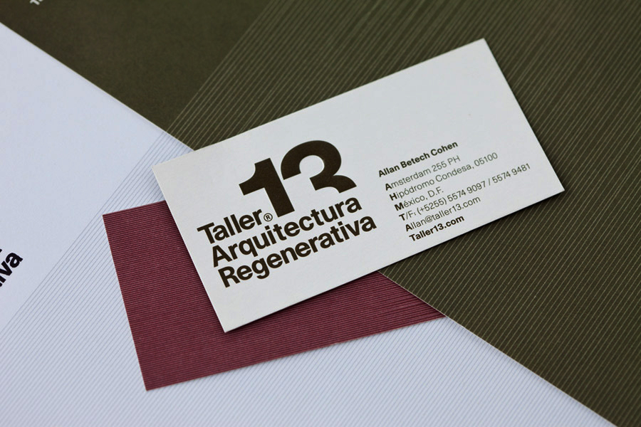 architecture business cards