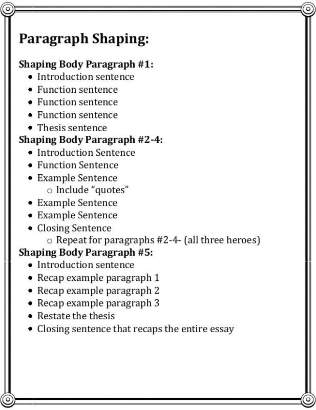 argumentative essay outline template