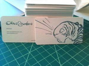 artist business card chris sanders business cards