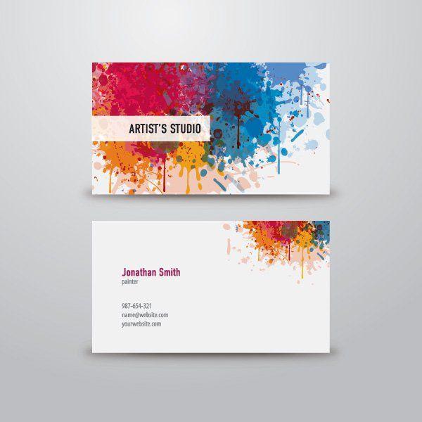 artist business cards